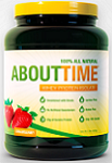 About Time 100 percent Whey Protein Isolate Strawberry 2 lbs 908 g About Time: 14 Reviews & $10 Coupon*