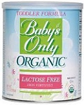 Babys Only Organics Toddler Formula Organic Lactose Free Iron Fortified Nature's One: $10 Coupon & 48 Reviews*