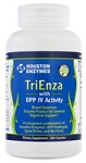 Houston Enzymes TriEnza with DPP IV Activity 180 Capsules Houston Enzymes: 41 Reviews & $10 Coupon*