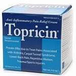 Topricin Anti Inflammatory Pain Relief and Healing Cream 4.0 oz Topricin: 217 Reviews & $10 Coupon*